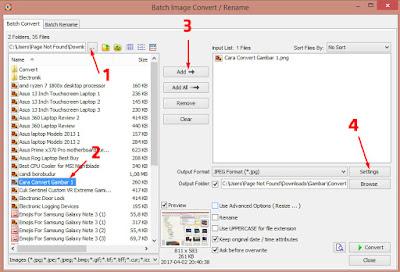 Cara Memperkecil Ukuran Gambar (Kompres) Hingga 10x Lipat. 15