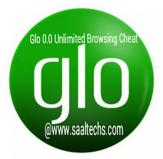 Glo unlimited free browsing cheat settings 2017