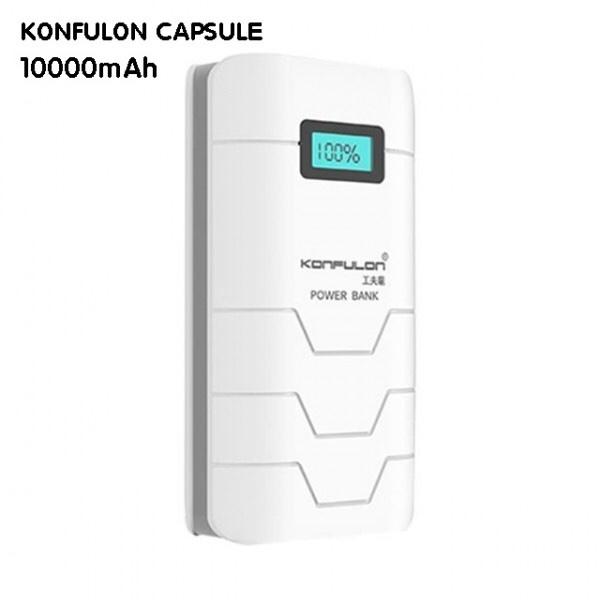 240k - Pin sạc dự phòng Konfulon CAPSULE 10.000mAh chính hãng có màn hình LCD giá sỉ và lẻ rẻ nhất