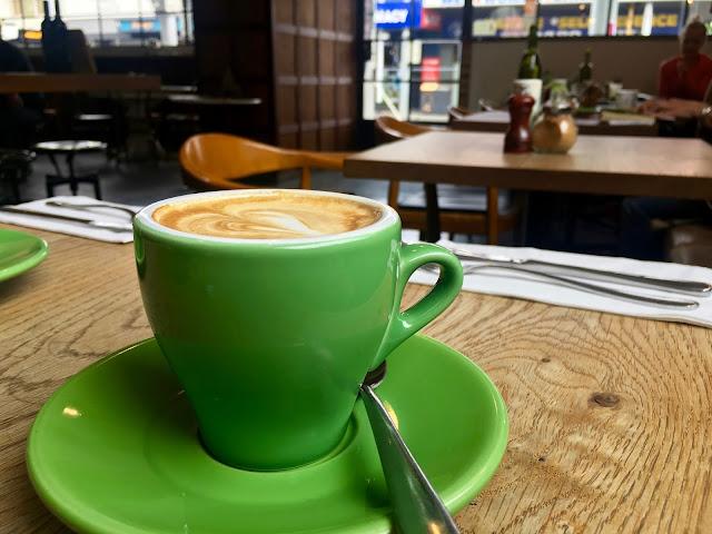 Allpress coffee at Little Henri in Thornbury
