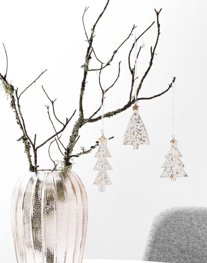 8 ideas handmade para decorar con efecto terrazo en Navidad