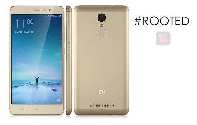 kali ini akan di tujukan pada device Xiaomi Redmi Note 3 dengan versi ...