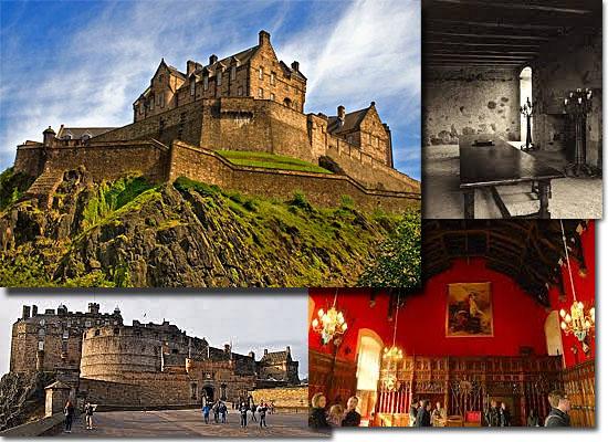 Lugares Assombrados - Castelo de Edimburgo - Escócia
