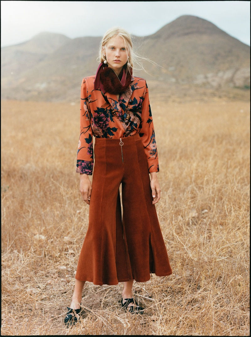 Zara TRF 'Go Rodeo' Fall 2017 Lookbook