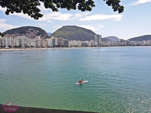 Visita ao Forte de Copacabana no Rio de Janeiro