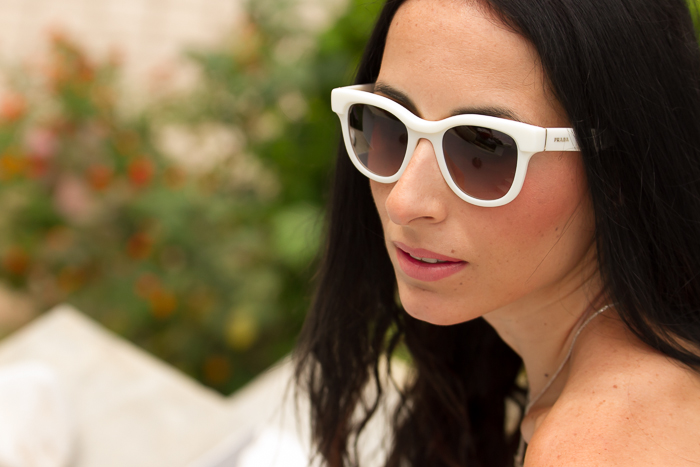 tendencias gafas blancas frame