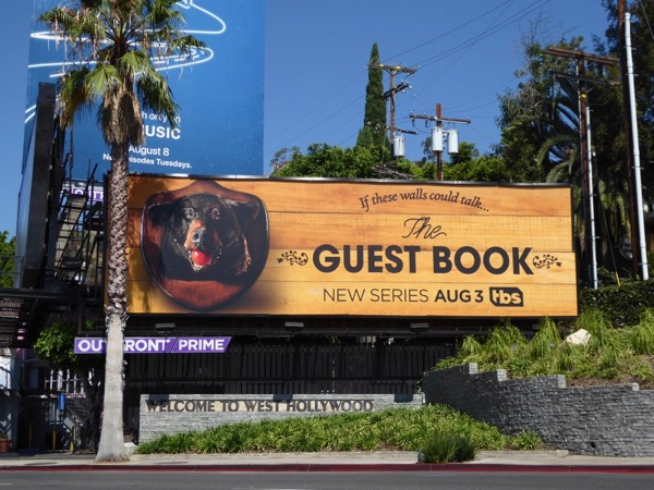 Guest Book season 1 bear billboard