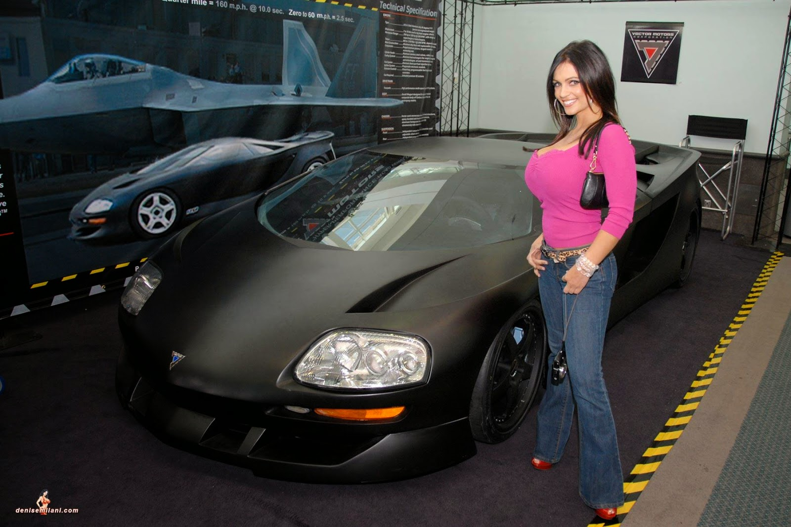Denise milani archives autoshow need for denise
