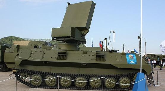 Image Attribute: 1L122-2E mobile anti-aircraft radar, first unvieled in 2009