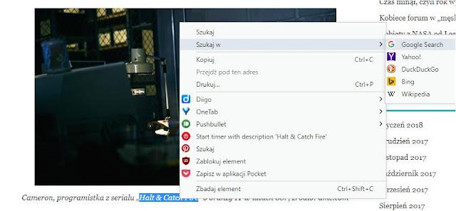Zablokowany prawy przycisk myszki na stronie - jak to obejść i odblokować?