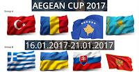 Διπλασίασε τις νίκες της στο Aegean Cup η Εθνική Παίδων
