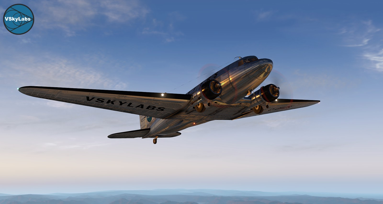 The VSKYLABS C-47 Skytrain FLP