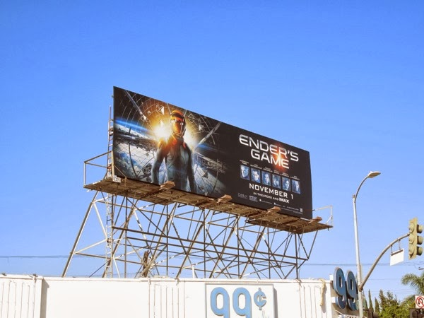 Ender's Game movie billboard