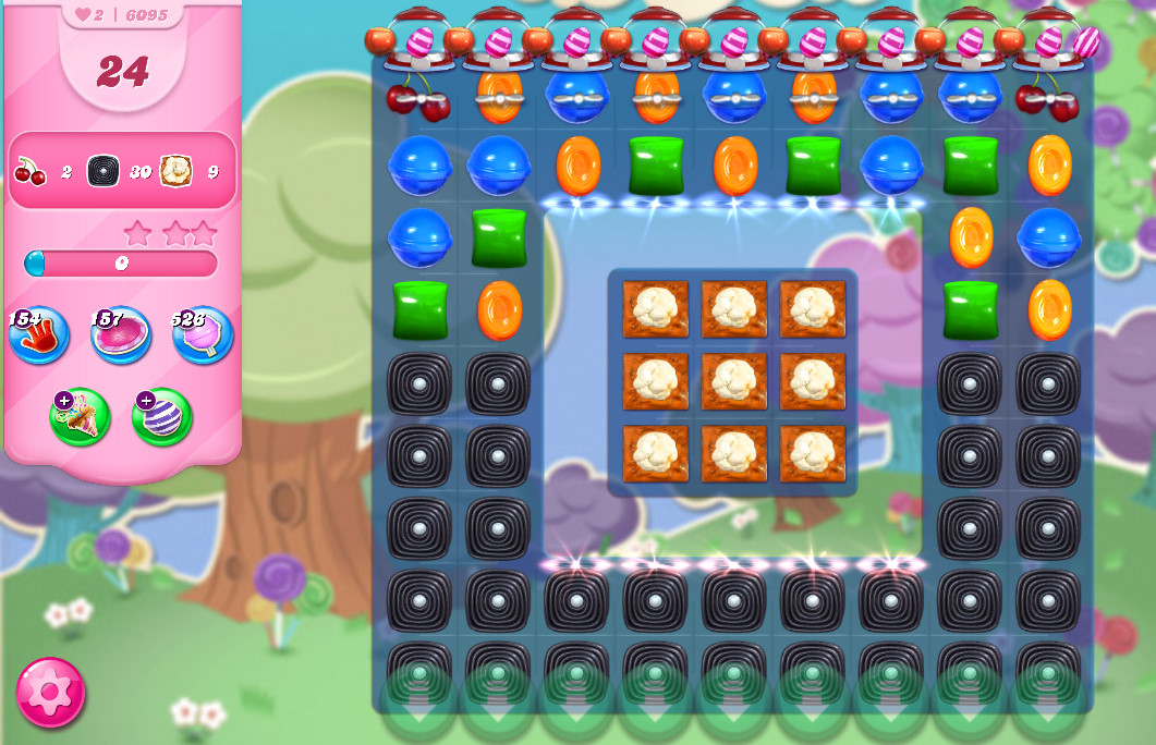Candy Crush Saga level 6095