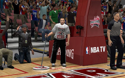 NBA 2K13 All-star Game Sideline Characters Update