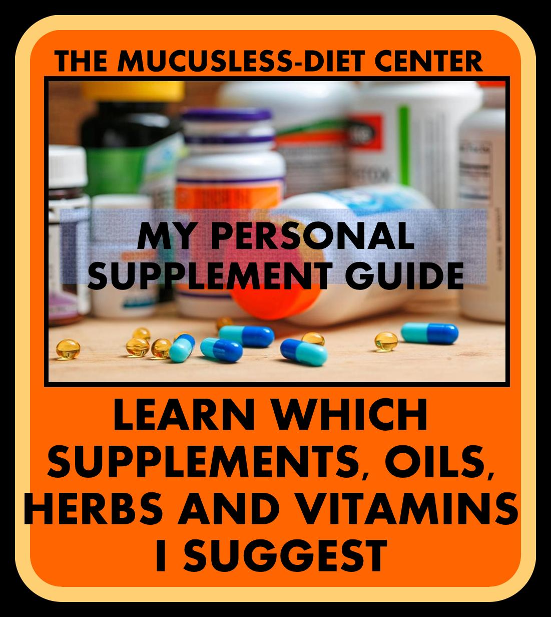 FREE PERSONAL SUPPLEMENT GUIDE