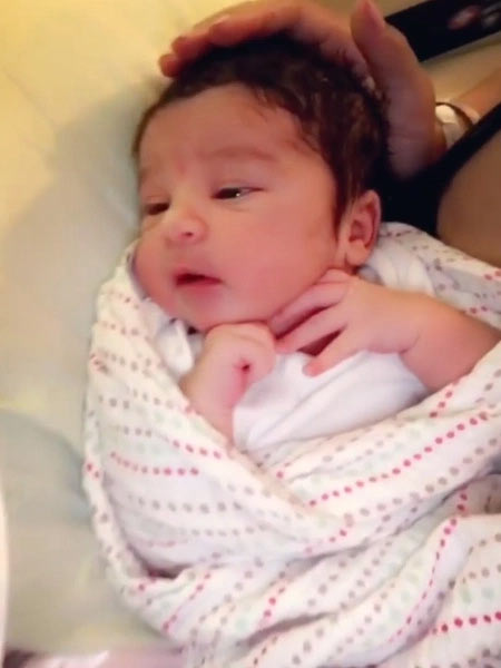 See all photos of Rob Kardashian and Blac Chyna's newborn daughter, Dream Kardashian