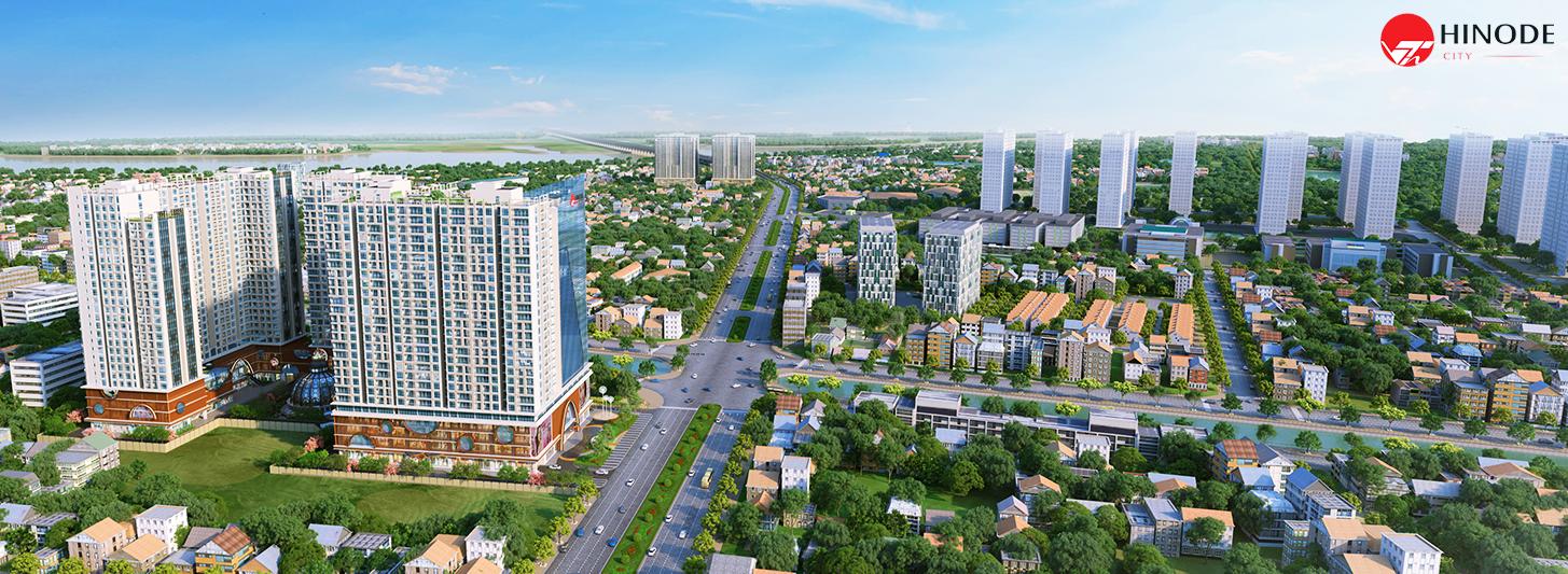 Giao thông kết nối thuận tiện tại dự án Hinode City 201 Minh Khai