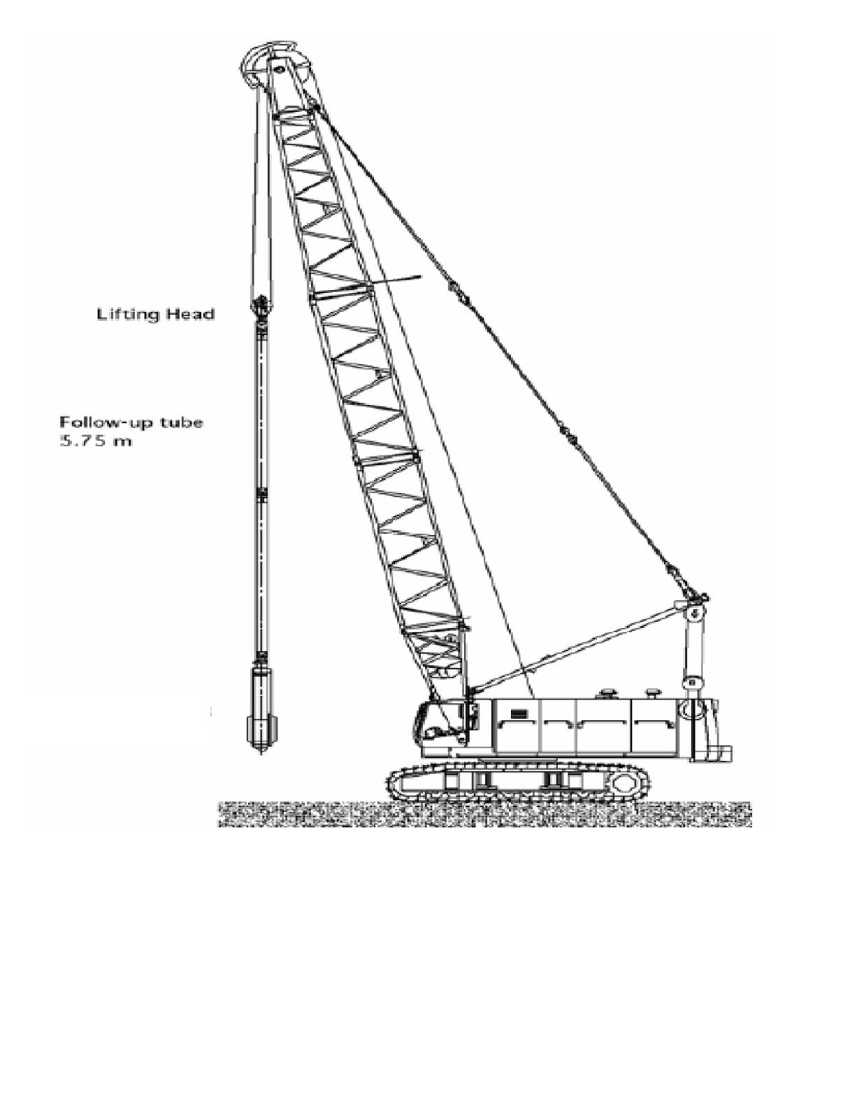 Piling Amp Shoring General Method Statement Amp Design Of A