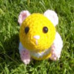 http://sparrow-dream.deviantart.com/art/Hamster-Amigurumi-plus-Pattern-98396865