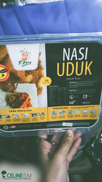 food on-board indonesian train