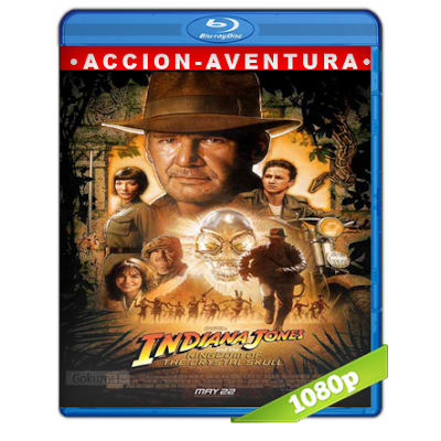 Indiana Jones 4 (2008) BRRip Full 1080p Audio Trial Latino-Castellano-Ingles 5.1