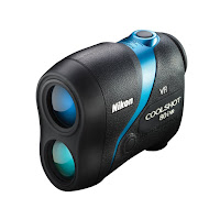 Nikon CoolShot 80i VR Slope Golf Laser Rangefinder, review features compared with CoolShot 80, with Vibration Reduction technology plus ID slope technology