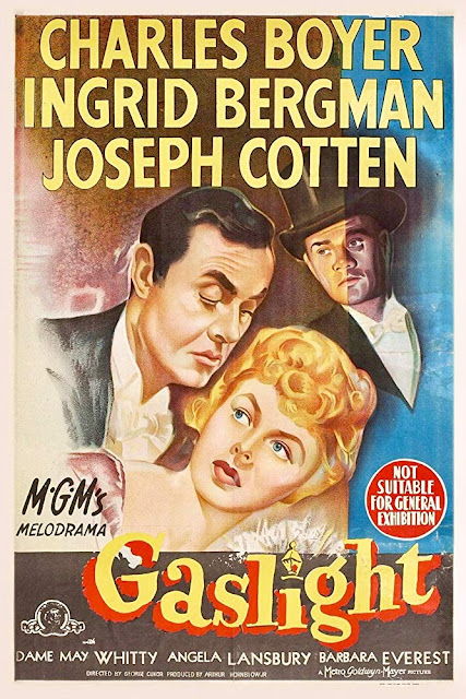 Gaslight 1944 movie poster