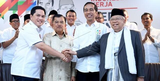 Hasil Survei LSI Mengecewakan Kubu Jokowi, Golkar dan PDIP Angkat Bicara