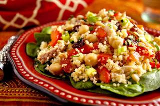 Мароканска салата с кус-кус