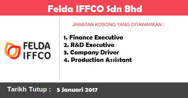 Jawatan Kosong di Felda IFFCO Sdn Bhd