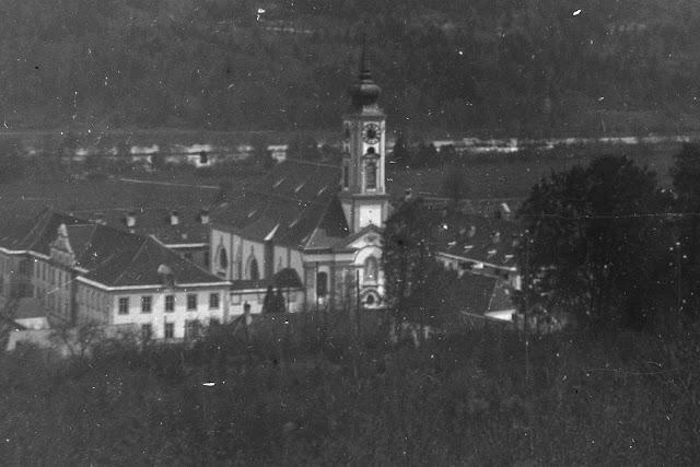 Detailaufnahme - Kloster Schäftlarn - Abtei Schäftlarn - um 1910-1930