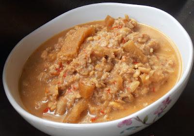 olahan makanan khas solo sambal tumpang