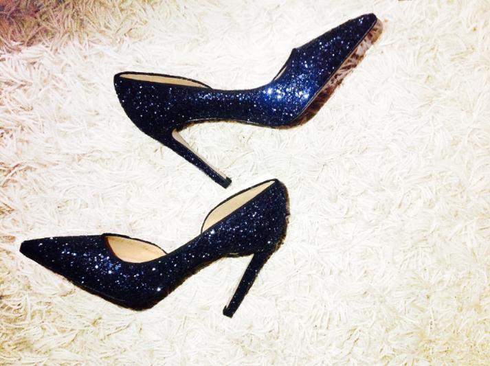 Glitter shoes by Hannibal Laguna