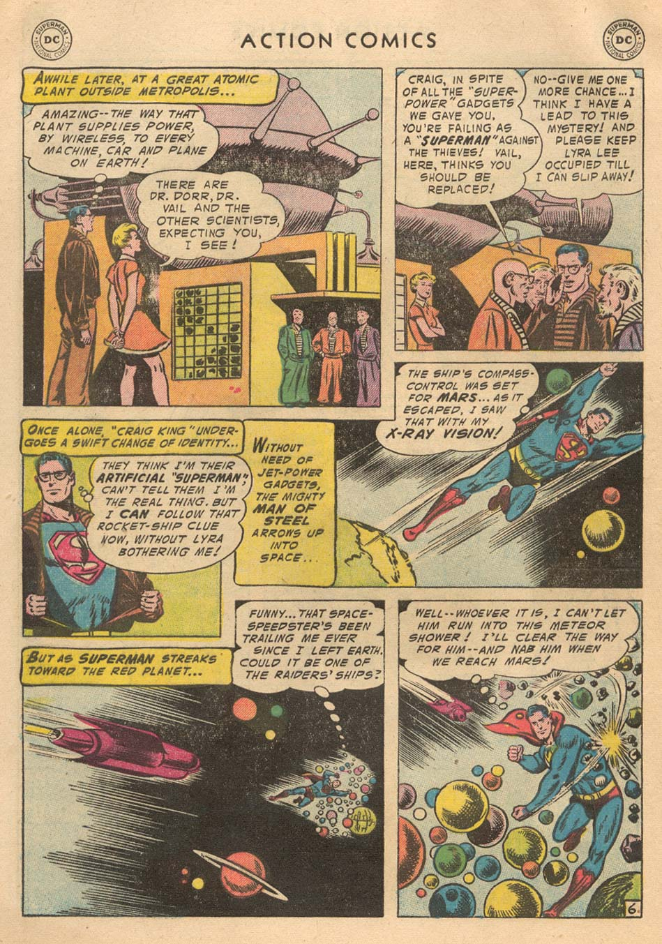 Read online Action Comics (1938) comic -  Issue #215 - 8