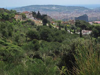Montjuic from Sant Pere Martir