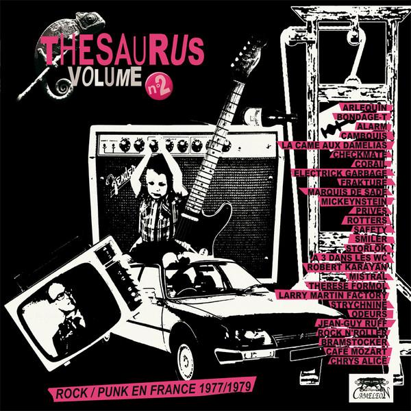V/A – Thesaurus #2 (Rock/Punk En France 1977-1979) | ✅ Download