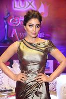Shreya Saran in Skin Tight Golden Gown ~  Exclusive 007.JPG