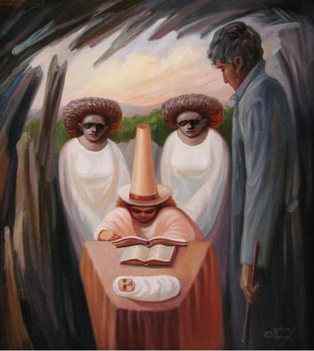 Олег Шупляк 1967 | Optical illusionist painter