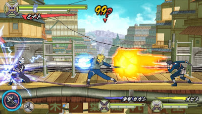 Download Naruto Shippuden: Ultimate Ninja Heroes 3 CSO ISO