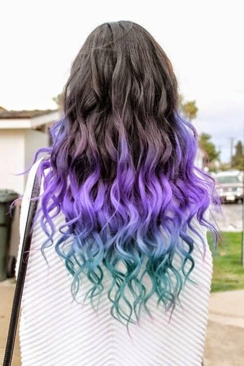 Amazing Rock Rainbow Hair