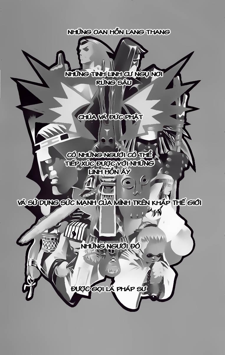 Shaman King [Vua pháp thuật] chap 1 trang 7