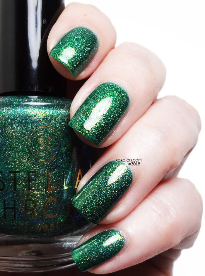 xoxoJen's swatch of Stella Chroma Queen Selyse