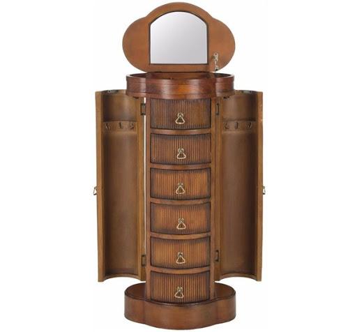 luxury jewelry armoire