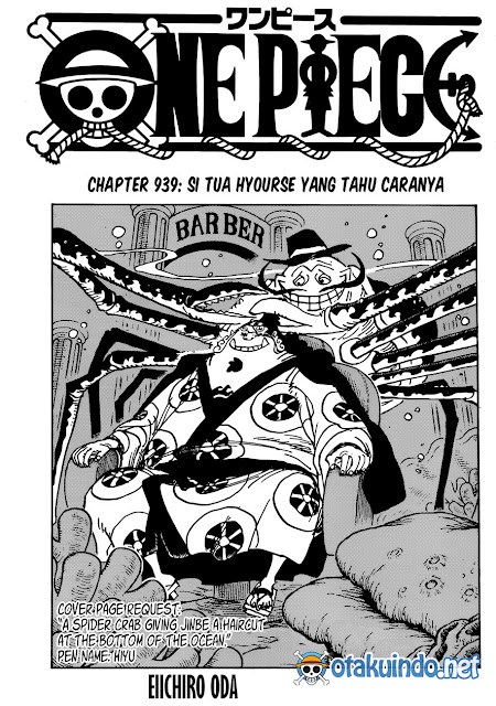 Baca Manga One Piece Chapter 939 Bahasa Indonesia