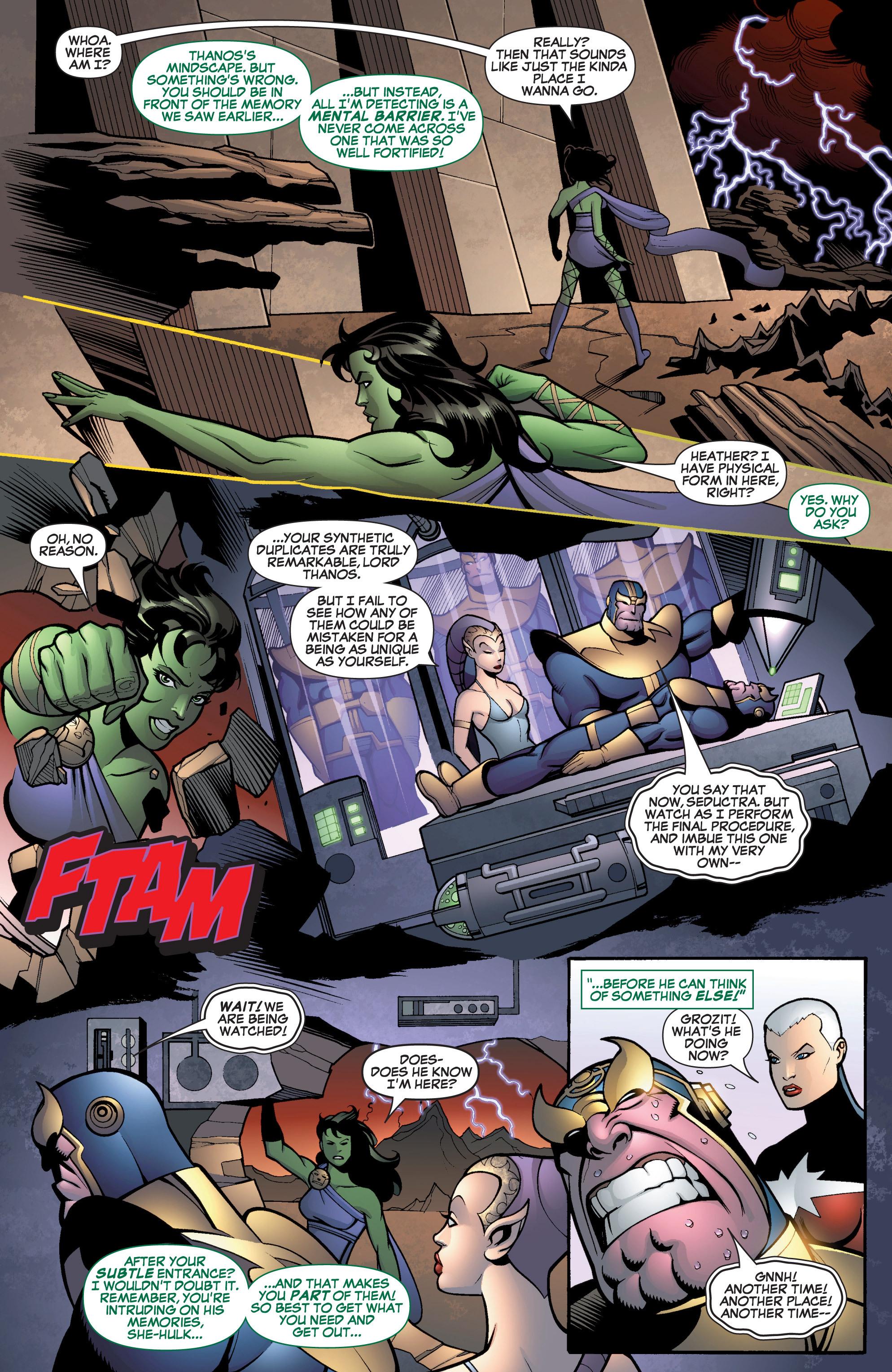 Read online She-Hulk (2005) comic -  Issue #13 - 5