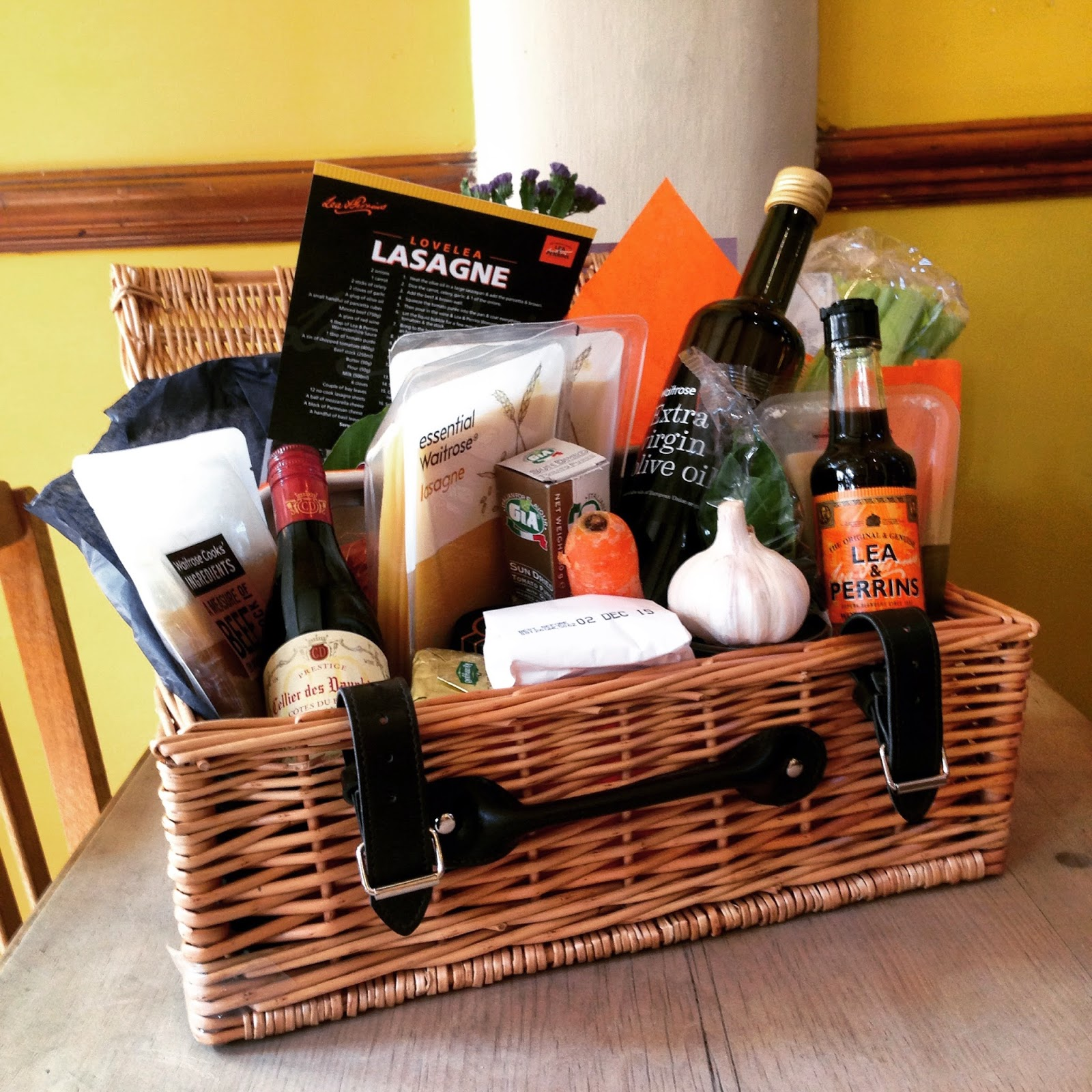 Lea and Perrins Lasagne hamper