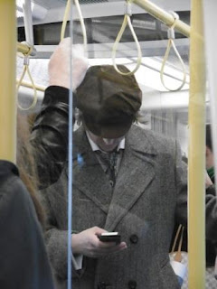 Sherlock in the tube? malooka