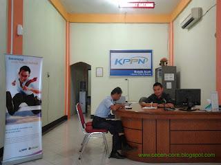 Ruang Pelayanan Unit Layanan Filial KPPN Banda Aceh di Sabang