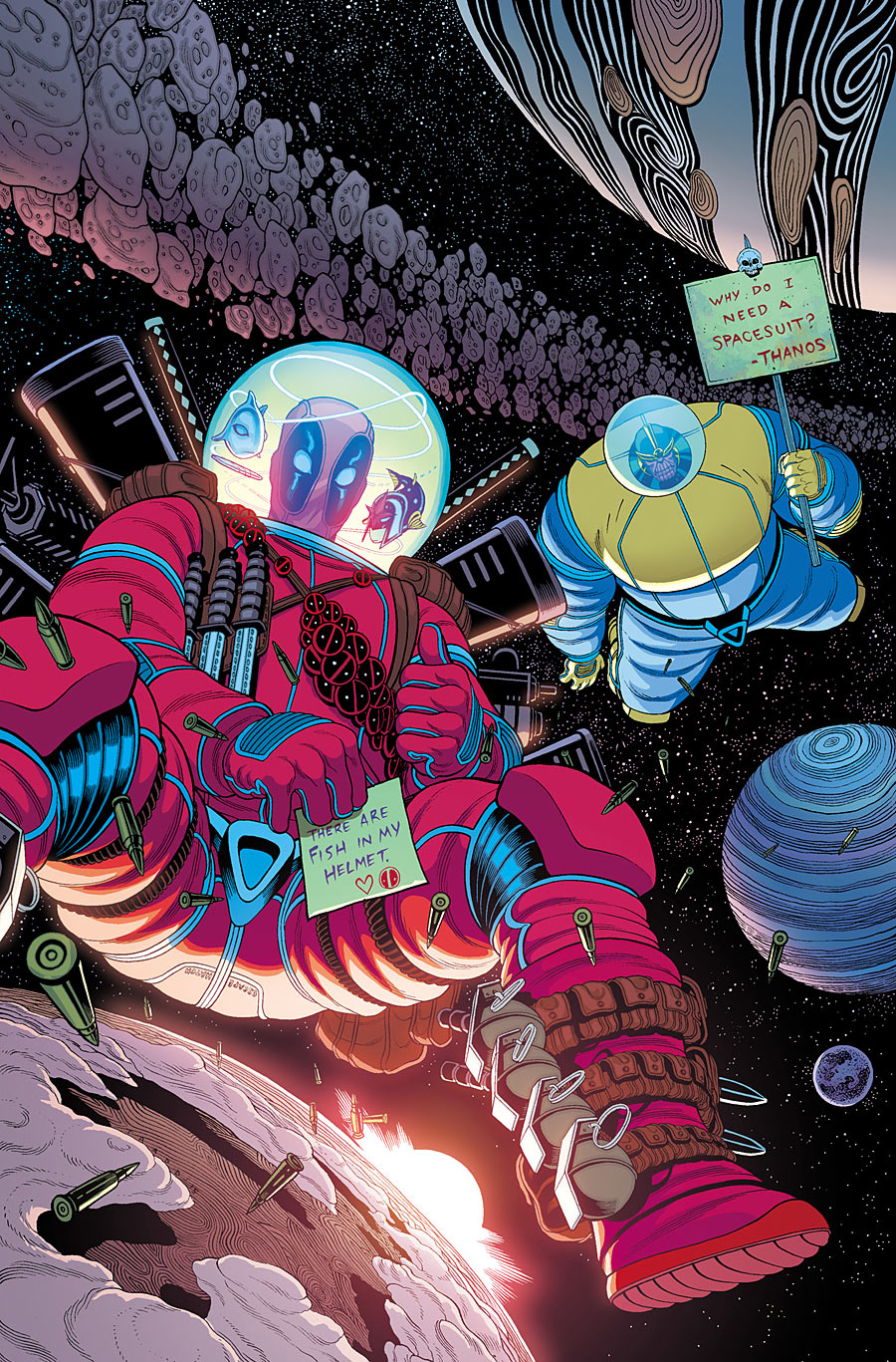 Tim Seeley Discusses Deadpool Vs Thanos  Deadpool Bugle